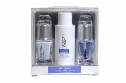 Bilde av Brilliance neglbehandlings kit - rens/bleking/behandling
